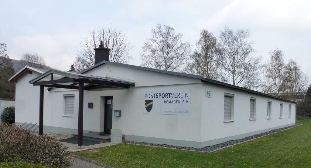 Vereinsheim in Remagen mit Anbau.