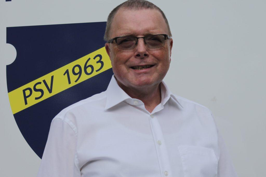 Hans-Werner Thiemann, Schatzmeister des Postsportverein Remagen.