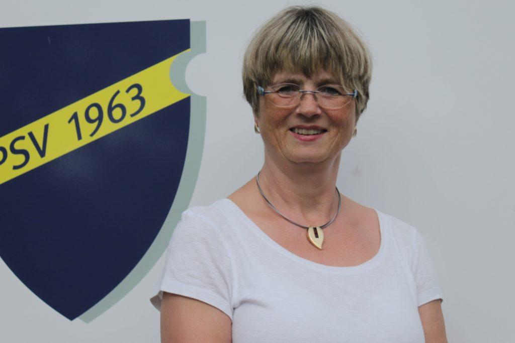 Hiltrud Thiemann leitet die Abteilung Eltern-Kind-Turnen.