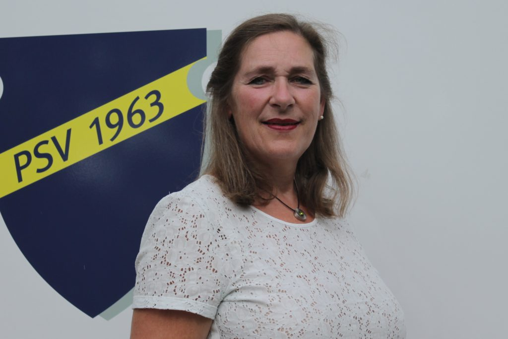 Marion Tiltmann leitet die Abteilung Gymnastik für Frauen.