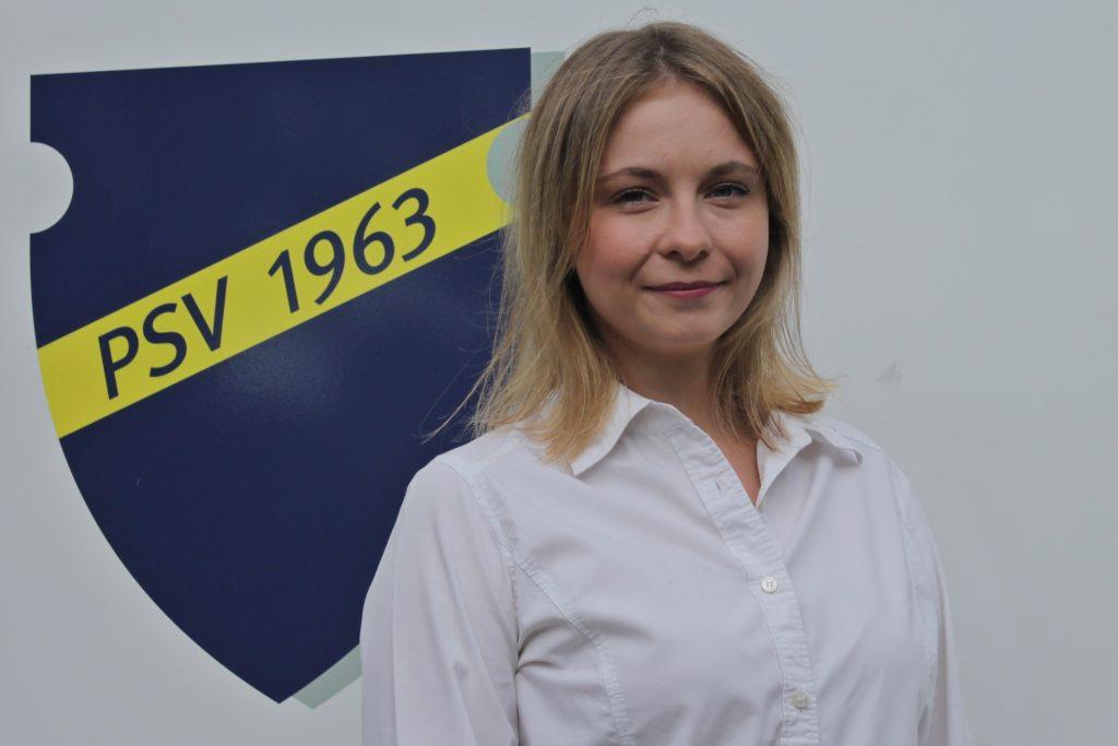 Lena Lütt ist Beisitzerin für Soziale Medien des Postsportverein Remagen und leitet die Abteilung Cheerleading.