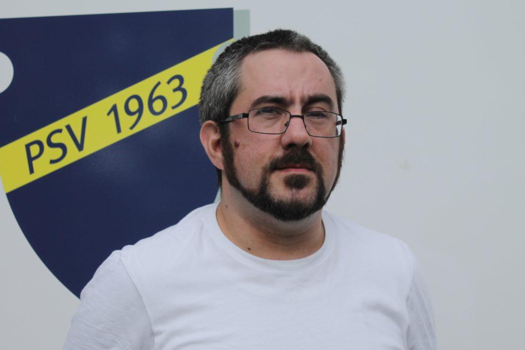 Benedikt Flück leitet die Abteilung Basketball.