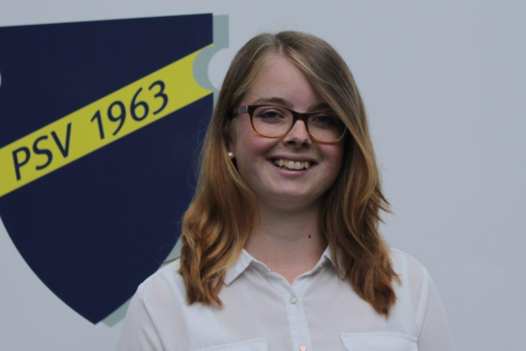 Hannah Thiemann leitet die Geschäftsstelle des Postsportverein.